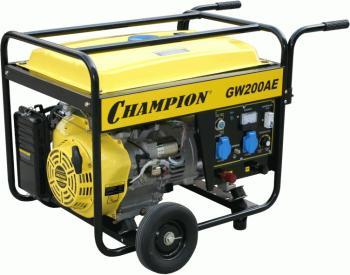 Электрический генератор и электростанция Champion