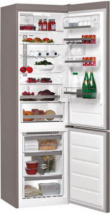 Двухкамерный холодильник Whirlpool BSNF 9782 OX двухкамерный холодильник don r 295 b