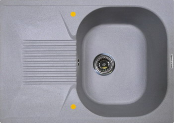 Кухонная мойка Zigmund amp Shtain KLASSISCH 695 млечный путь кухонная мойка ukinox stm 800 600 20 6