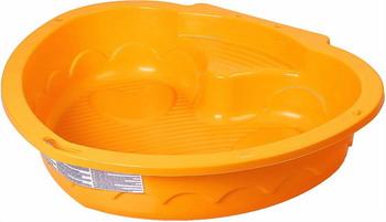 Песочница PalPlay Сердечко оранжевая песочница детская d 130см пластик визан