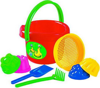 Набор для песочницы Полесье Набор №10 игрушки в песочницу green toys игровой набор для песочницы