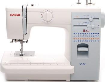 Швейная машина JANOME 5522 швейная машина janome dresscode