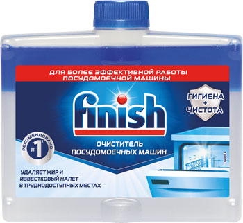 Очиститель посудомоечной машины FINISH 250 мм