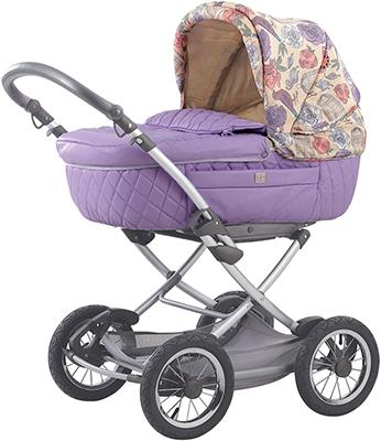 Коляска Happy Baby Charlotte Violet подстаканник для коляски happy baby 40007 4690624020919
