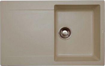 Кухонная мойка LAVA L.4 (LATTE белый) кухонная мойка ukinox stm 800 600 20 6