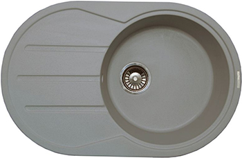 Кухонная мойка LAVA E.2 (SCANDIC серый ) кухонная мойка lava q 1 scandic серый