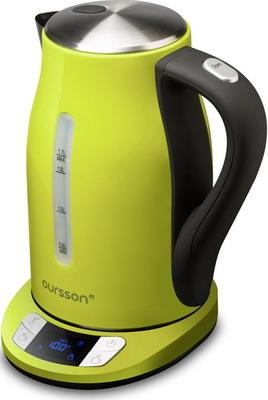 Чайник электрический Oursson EK 1775 MD/GA (Зеленое яблоко) oursson hb4040 ga зеленое яблоко