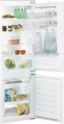 Встраиваемый двухкамерный холодильник Indesit B 18 A1 D/I холодильник indesit ef 20 d двухкамерный белый