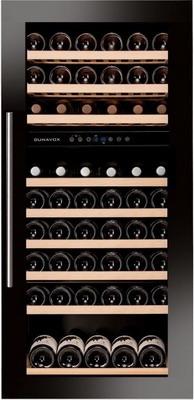 Встраиваемый винный шкаф Dunavox DAB 89.215 DB винный шкаф dunavox dab 42 117dss