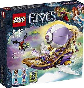 Конструктор Lego ELVES Погоня за амулетом 41184-L