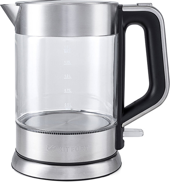 Чайник электрический Kitfort КТ-617 чайник электрический kitfort кт 615 2