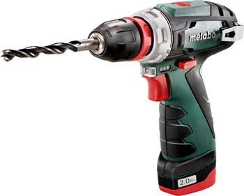 цена на Дрель-шуруповерт Metabo PowerMaxx BS Quick Basic 108В 600156500