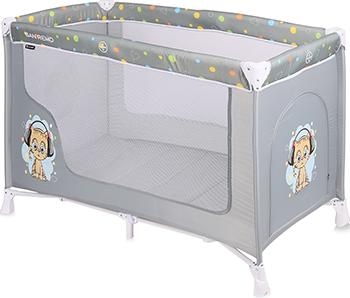 цена на Манеж-кровать Lorelli San Remo 1 Серый / Grey Cute Kitten 10080011805