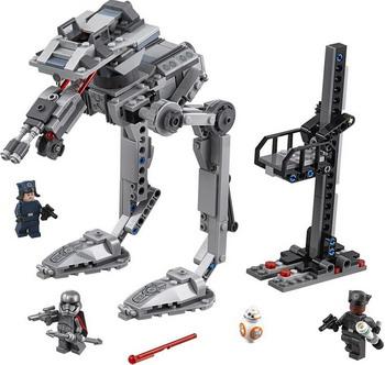 Конструктор Lego Star Wars: Вездеход AT-ST Первого Ордена 75201 конструктор lego star wars шагающий штурмовой вездеход at te капитана рекса 75157