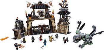 Конструктор Lego Ninjago: Пещера драконов 70655 конструктор lego ninjago катана v 11 70638