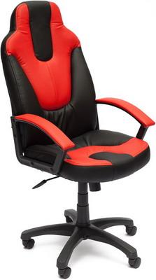 Кресло Tetchair NEO (2) (кож/зам черный красный PU 36-6/PU 36-161) кресло tetchair neo 1 кож зам черный жёлтый pu 36 6 36 14
