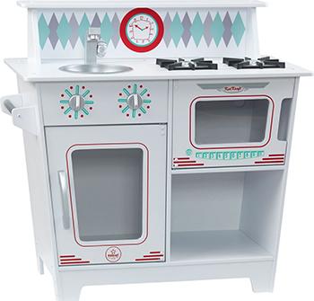 Игрушечная кухня KidKraft ''Классик'' цв. Белый 53384_KE игровая кухня kidkraft большой интерактив цв белый 53369 ke