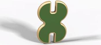 Элемент-бабочка игрового детского контруктора-транформера, (древесный, красный, зеленый, синий, желтый) Hotnok серии ''Архитектор'' ArchP-2 жен ожерелья с подвесками мода перо красный синий темно зеленый 35cm ожерелье назначение праздники для улицы