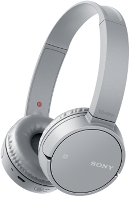 Накладные наушники Sony Bluetooth WH-CH 500 H.E серый беспроводное накладные наушники назначение sony ps3 bluetooth накладные наушники металл abs 1 pcs ед изм
