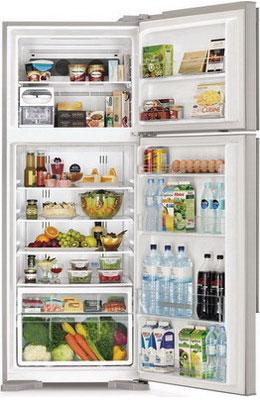Двухкамерный холодильник Hitachi R-V 542 PU3X INX