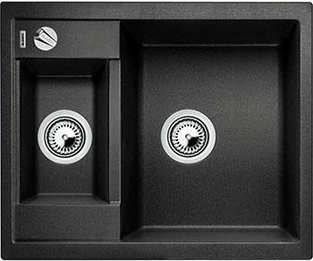 Кухонная мойка BLANCO METRA 6-F антрацит с клапаном-автоматом