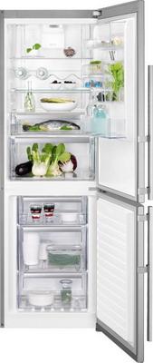 Двухкамерный холодильник Electrolux EN 3489 MFX CustomFlex двухкамерный холодильник don r 297 b