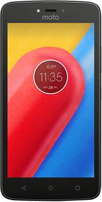 Мобильный телефон Motorola C 4G XT 1754 16 Gb черный смартфон motorola c 4g 16gb xt1754 черный