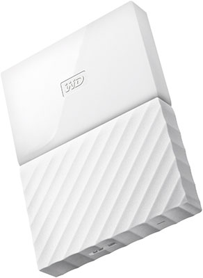 Внешний жесткий диск (HDD) Western Digital Original USB 3.0 1Tb WDBBEX 0010 BWT-EEUE My Passport 2.5'' белый жесткий диск western digital my book duo 4tb wdbrmh0040jch eeue