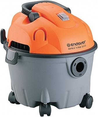 Строительный пылесос Endever Spectre 6010  серый/оранжевый пылесос endever vc 540