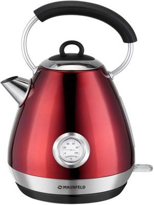 все цены на Чайник электрический MAUNFELD MFK-661 CH вишневый с перламутром онлайн