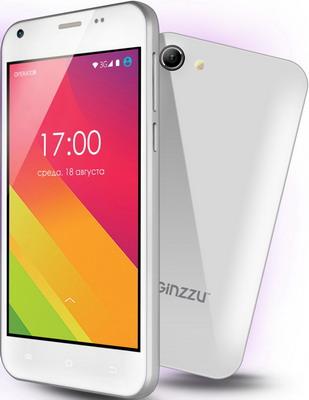 Мобильный телефон Ginzzu S 4020 белый мобильный телефон ginzzu r12 белый