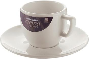 Чашка для эспрессо Tescoma CREMA с блюдцем 387120 remember чашка для эспрессо с блюдцем сolour caro