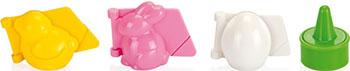 Формочки для печенья с начинкой Tescoma DELICIA 3 пасхальных формы 631648 s925 pure silver personality female models new beeswax