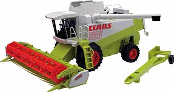 Комбайн Bruder 02-120 Claas Lexion 480 трактор bruder claas axion 950 bruder