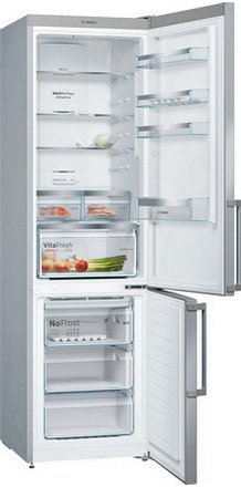 Двухкамерный холодильник Bosch KGN 39 XL 3 OR холодильник bosch kgn39nw13r двухкамерный белый