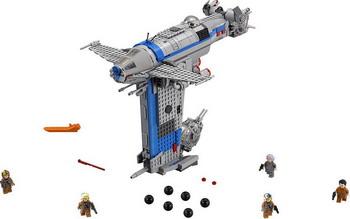 Конструктор Lego STAR WARS Бомбардировщик Сопротивления 75188 конструктор lego star wars военный транспорт сопротивления 75140