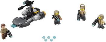 Конструктор Lego STAR WARS Боевой набор Сопротивления 75131 конструктор lego star wars боевой набор планеты татуин 75198