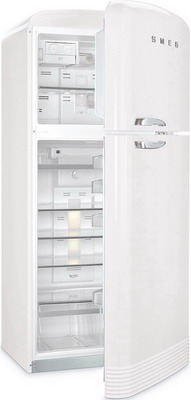Двухкамерный холодильник Smeg FAB 50 RWH