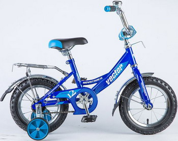 Велосипед Novatrack 12 VECTOR синий 123 VECTOR.BL8 novatrack