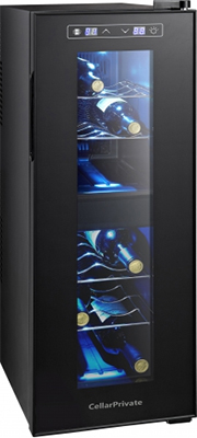 Винный шкаф Cellar Private CP 012-2T черный sonex sn 012 t page 8