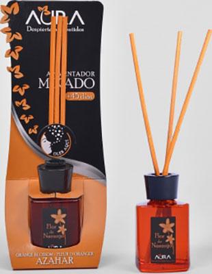 Арома-диффузор AURA Mikado жилых помещений с ароматом цветущего апельсина и мандарина 30 мл арома диффузор aura mikado для жилых помещений с ароматом цветущей вишни 30 мл