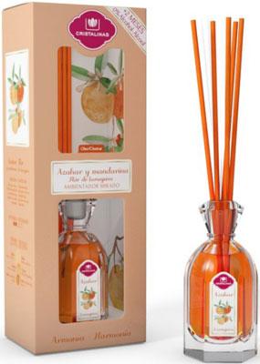 Арома-диффузор CRISTALINAS Mikado для жилых помещений с ароматом цветущего апельсина и мандарина 180мл