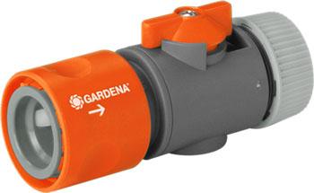 Коннектор Gardena с регулятором 1/2'' 2942-29 коннектор gardena с регулятором 1 2 2942 29