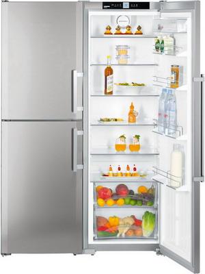 Холодильник Side by Side Liebherr SBSef 7343 холодильник side by side liebherr sbses 7165 sbses 71650