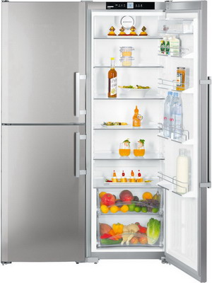 Холодильник Side by Side Liebherr SBSef 7343 холодильник side by side samsung rs552nrua1j