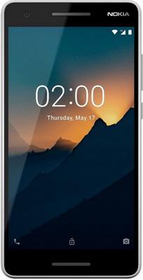 Смартфон Nokia 2.1 Dual Sim серый/серебристый crazy selling baanool car gps tracker tk105b sms gsm gprs vehicle tracking device remote control with dual sim free shipping