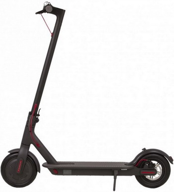Самокат и скейтборд Xiaomi Mi Electric Scooter Black цена и фото