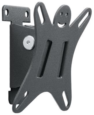 Кронштейн для телевизоров Holder LCDS-5002 металлик holder lcds 5065 black gloss кронштейн для тв