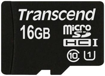 Карта памяти Transcend 16 GB MicroSDHC class 10 TS 16 GUSDCU1 Premium UHS-1 карта памяти transcend 16gb microsdhc class 10 uhs 1 ts16gusdcu1