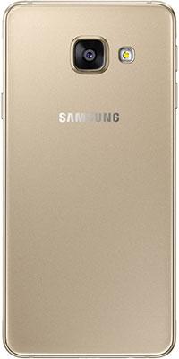Мобильный телефон Samsung Galaxy A3 (2016) 16 Gb SM-A 310 F золотистый мобильный телефон samsung galaxy a3 2017 16 gb sm a 320 f черный